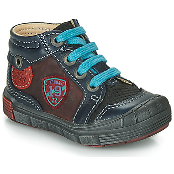 Shoes Boy Mid boots Catimini ROCOU Vts / Blue bordeaux