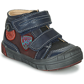 Shoes Boy Mid boots Catimini ROMARIN Vts / Blue bordeaux