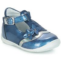 Shoes Girl Sandals GBB SELVINA Blue / Kezia