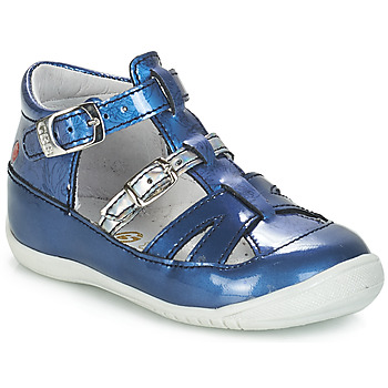 Shoes Girl Sandals GBB SARAH Blue / Kezia