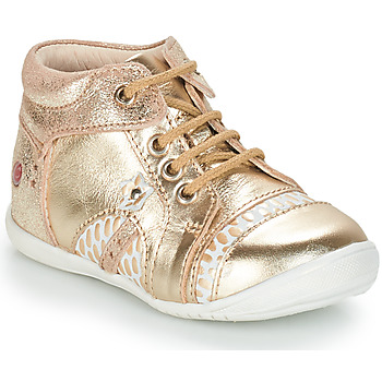 Shoes Girl Mid boots GBB STELLA Gold