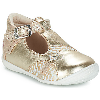Shoes Girl Ballerinas GBB STEPHANIE Gold