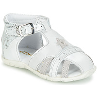 Shoes Girl Sandals GBB SUZANNE Vte / Gray silver