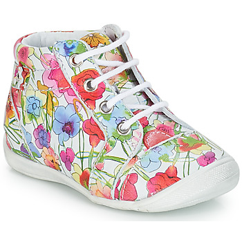 Shoes Girl Mid boots GBB SIDONIE Vte / Flower / Kezia