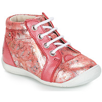 Shoes Girl Mid boots GBB SIDONIE Vte / Light pink / Kezia