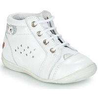 Shoes Girl Mid boots GBB SIDONIE Vte / White / Kezia