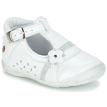 Shoes Girl Ballerinas GBB SIXTINE White