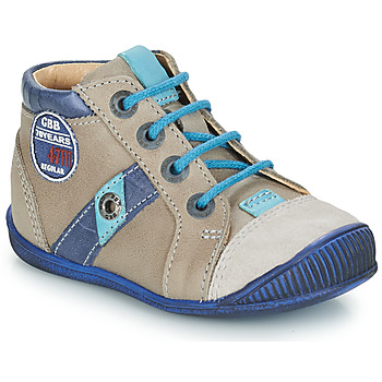 Shoes Boy Mid boots GBB SILVIO Vtc /  bleu