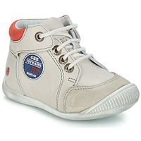 Shoes Boy Mid boots GBB SYLVESTRE Vtc / Beige red
