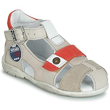 Shoes Boy Sandals GBB SULLIVAN Beige / Red