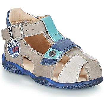 Shoes Boy Sandals GBB SULLIVAN Grey / Blue