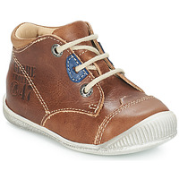 Shoes Boy Mid boots GBB SAMUEL Vte / Fauve