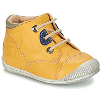 Shoes Boy Mid boots GBB SAMUEL Vte / Yellow