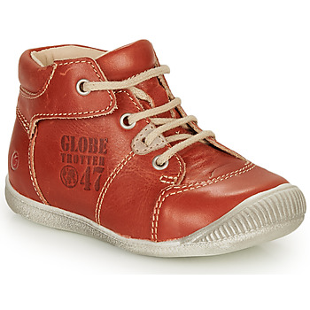 Shoes Boy Mid boots GBB SIMEON Vte / Rust
