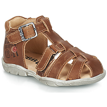 Shoes Boy Sandals GBB PRIGENT Brown