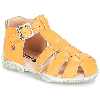 Shoes Boy Sandals GBB PRIGENT Yellow