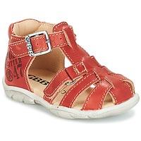 Shoes Boy Sandals GBB PRIGENT Vte / Rust