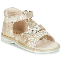 Shoes Girl Sandals GBB SYLVIE Ctv / Gold / Lola