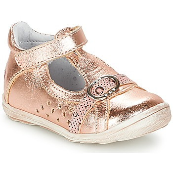 Shoes Girl Ballerinas GBB SALOME Pink / Gold