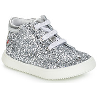 Shoes Girl Mid boots GBB SACHA Silver