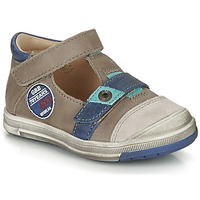 Shoes Boy Sandals GBB SOREL Taupe / Blue