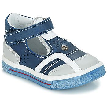 Shoes Girl Ballerinas GBB SALVADORE Blue / Grey