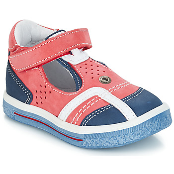 Shoes Girl Ballerinas GBB SALVADORE Red / Blue