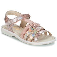 Shoes Girl Sandals GBB SCARLET Vtv / Pink / Nicla