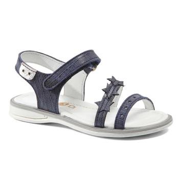Shoes Girl Sandals GBB SWAN Vte / Marine / Lola