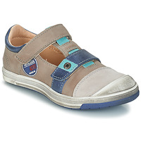 Shoes Boy Low top trainers GBB SCOTT Taupe / Blue
