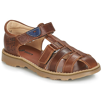 Shoes Boy Sandals GBB PATERNE Brown