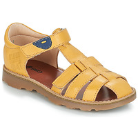 Shoes Boy Sandals GBB PATERNE Yellow