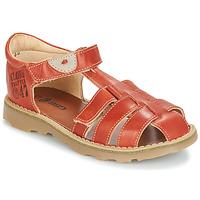 Shoes Boy Sandals GBB PATERNE Vte / Rust