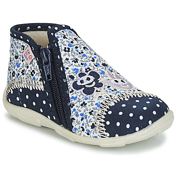 Shoes Girl Slippers GBB PILI Blue / White