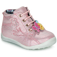 Shoes Girl Mid boots Catimini SALAMANDRE Pink
