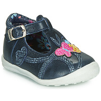Shoes Girl Mid boots Catimini SOLEIL Vte / Marine