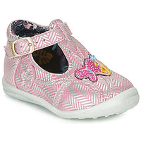 Shoes Girl Ballerinas Catimini SOLEIL Pink