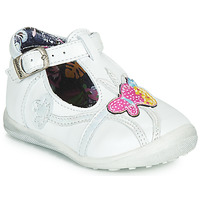 Shoes Girl Mid boots Catimini SOLEIL Vte / White