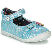 Shoes Girl Ballerinas Catimini SITELLE Vte / Blue-silver