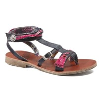 Shoes Girl Sandals Catimini SABRALIA Vte / Navy fuschia