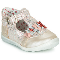 Shoes Girl Ballerinas Catimini SALICORNE Pink