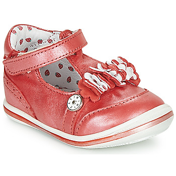 Shoes Girl Ballerinas Catimini SANTOLINE Red