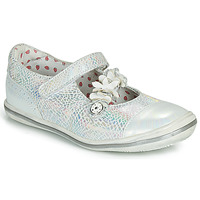 Shoes Girl Ballerinas Catimini STROPHAIRE Silver