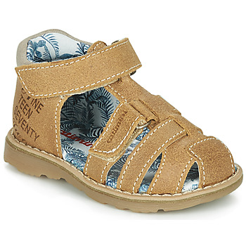 Shoes Boy Sandals Catimini SYCOMORE Crt / Fauve