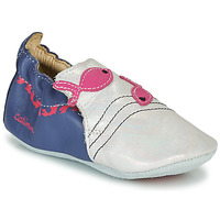 Shoes Girl Slippers Catimini SIRENE Vte / Navy white