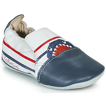 Shoes Boy Slippers Catimini SIMOCYBE Vte / White-navy blue