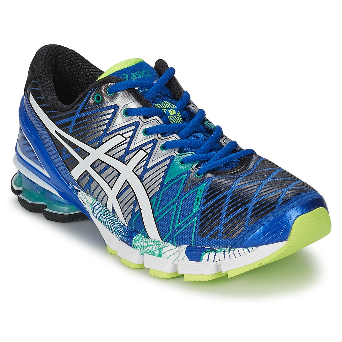 Running-shoes Asics GEL-KINSEI 5 Blue / White / Green