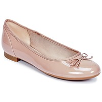Shoes Women Ballerinas Clarks COUTURE BLOOM Nude / Patent