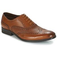 Shoes Men Brogue shoes Clarks GILMORE LIMIT Tan / Leather