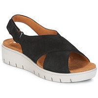 Shoes Women Sandals Clarks UN KARELY HAIL Black